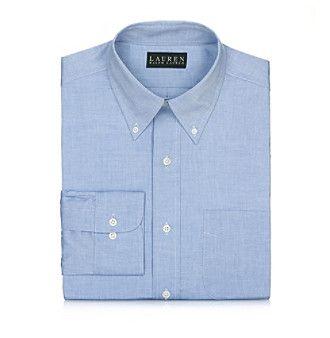 Lauren Ralph Lauren Men's Blue Dress Shirt