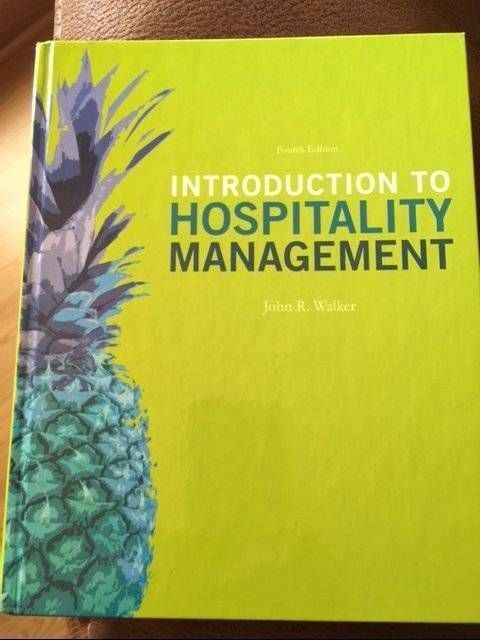 15 best principles of hospitality tourism images on pinterest new introduction to hospitality management 4e hardcover us edition walker fandeluxe Choice Image