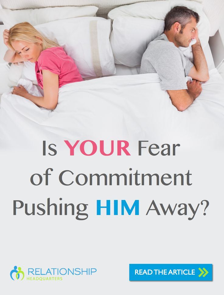 Often when the subject of commitment comes up, men are the ones who get labeled with FOC (fear of commitment). But sometimes, when we dig a little deeper, a different story unfolds.