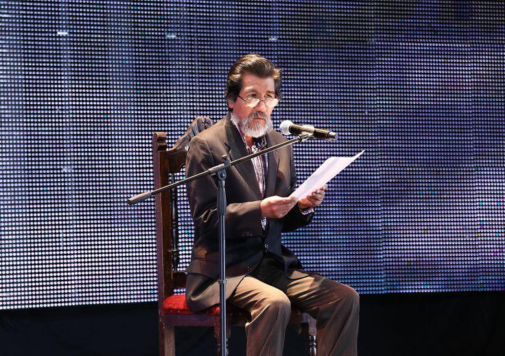 Premio Nacional de Literatura, Maestro Horacio Benavides en lectura #NochedeEstimulos Crédito @edwardloram