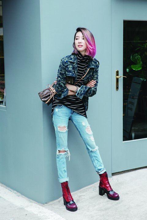 Irene Kim - Allure Korea Magazine September Issue '15
