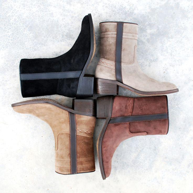 WIN: suède laarzen van Andaluxx t.w.v. €169,-