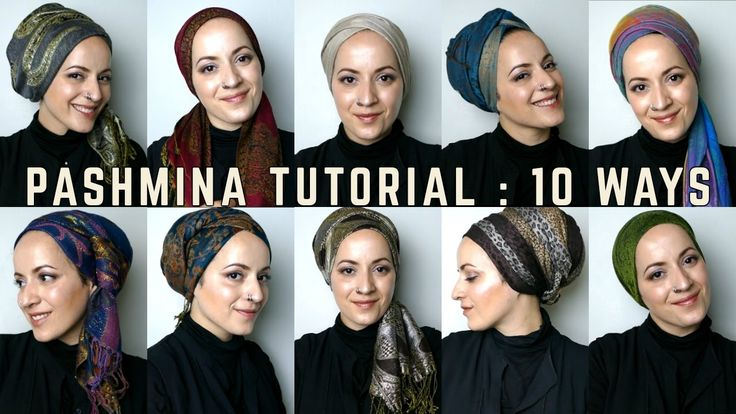 Wrapunzel: 10 Pashmina Tutorials!