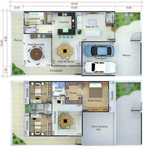 ideas about Telhado Embutido on Pinterest Casas com telhado embutido ...