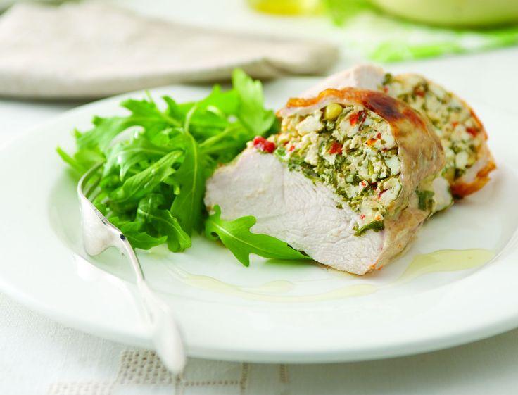 Blancs de poulet farcis à la ricottahttp://www.femmeactuelle.fr/cuisine/recettes/blancs-de-poulet-farcis-a-la-ricotta