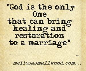Lots of marriage posts at www.melissasmallwood.com: