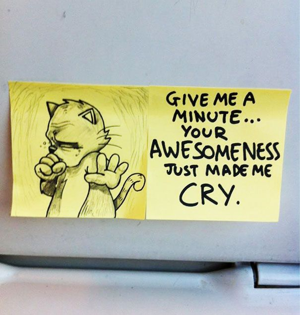 The Sticky-Note Artist Is Back, This Time He's Motivating You! 24 - https://www.facebook.com/diplyofficial