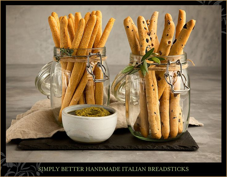 An essential part of any Italian Antipasti board, our Simply Better Handmade Italian Breadsticks and Flatbreads, made with extra virgin olive oil, are individually stretched by hand, by the team of bakers in Pandora Bakery, to create a light crisp texture when baked.
