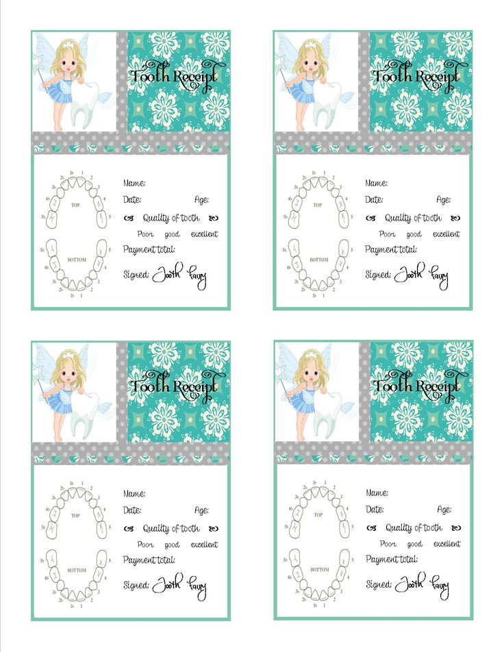 I made this tooth receipt last night for my daughter who lost her first tooth. I have seen some similar but I really wanted a chart. This will print on a standard 8.5 x 11 page. if you have any problems let me know! ~Sandy B