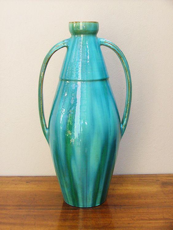 Linnware, A Large Two Handled Bottle Vase (sold)