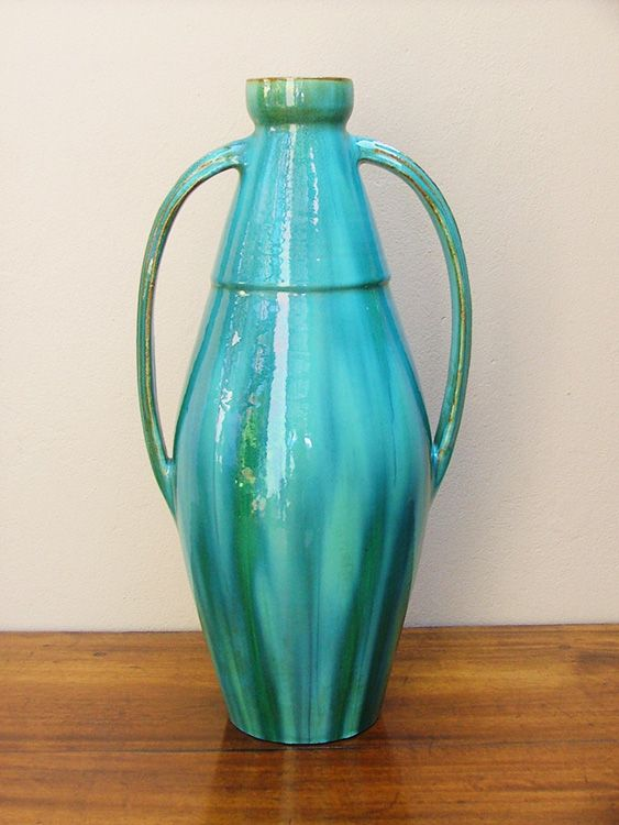 Linnware, A Large Two Handled Bottle Vase (sold)