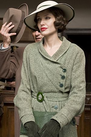 Angelina Jolie as Christine Collins in Changeling. 1920's fashion.