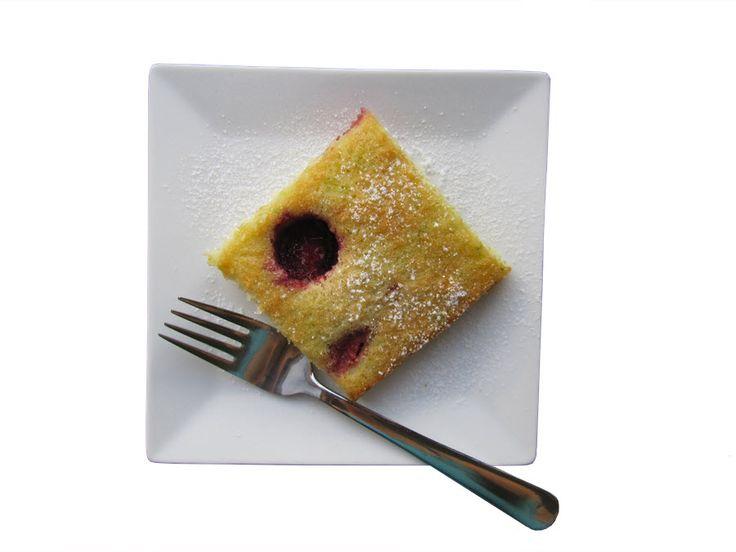 Bezlepkový táč s ovocem  #CUKETA #BUCHTA #OVOCE