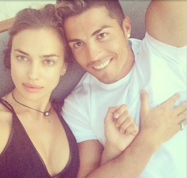 1002d9ce53da Irina Shayk and Cristiano Ronaldo Selfie in love on Instagram their  Holidays in Mykonos!