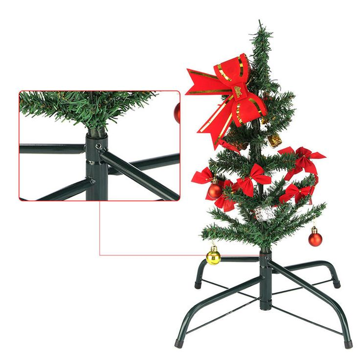 45CM Christmas Tree Iron Tripod Stand For Base Bracket Accessories Decoration