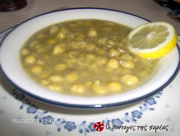 Ρεβύθια σούπα #sintagespareas