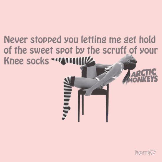 Knee Socks - Arctic Monkeys