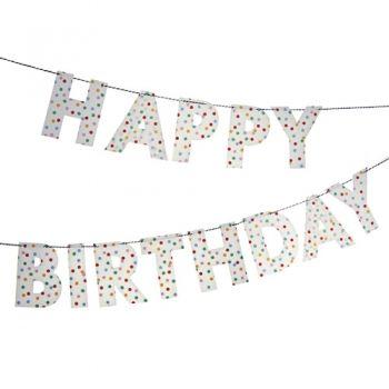 MyPaperSet - Buchstaben Girlande Happy Birthday