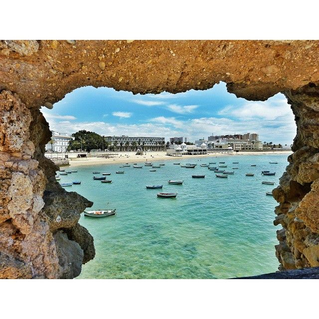 Playa de La Caleta #Cádiz #playa #beach #views