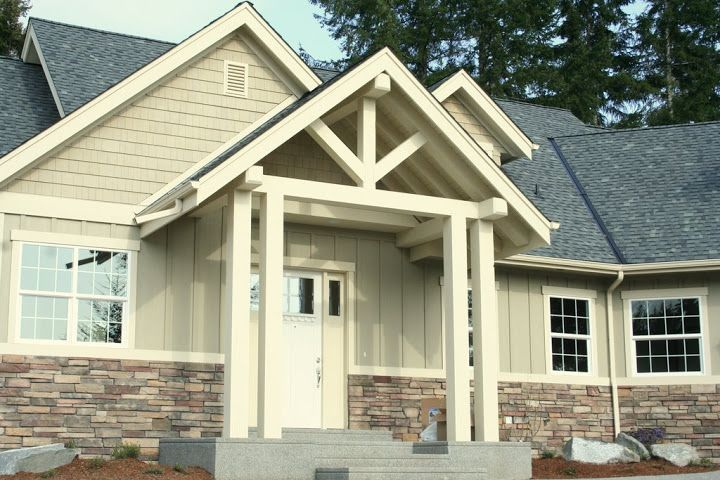 17 best images about exterior home ideas on pinterest for Smartside vs hardie