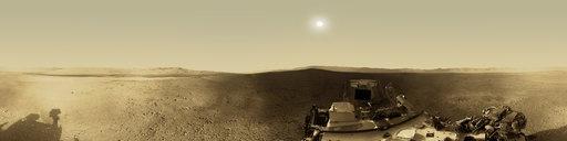 Curiosity rover: Martian solar day 2