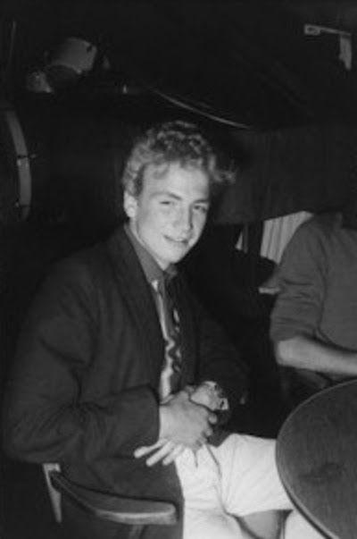 Justin Hayward in 1961 ~ age 14