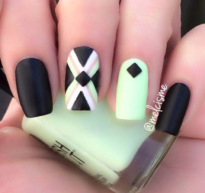 Mejores 378 imágenes de nails... en Pinterest | Uñas bonitas, Diseño ...