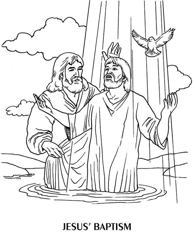 337 best Baptism of Jesus images on Pinterest | Sunday school ...
