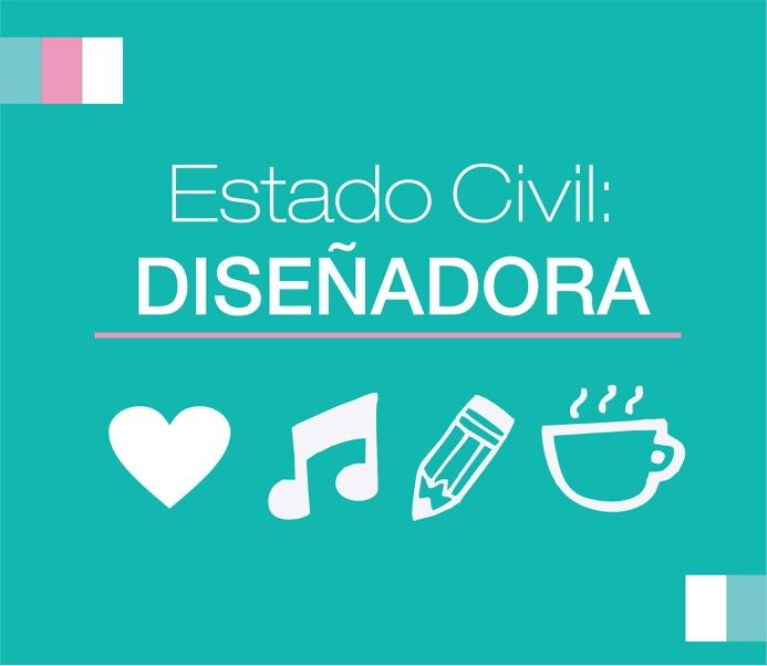 Estado civil: Dideñadora