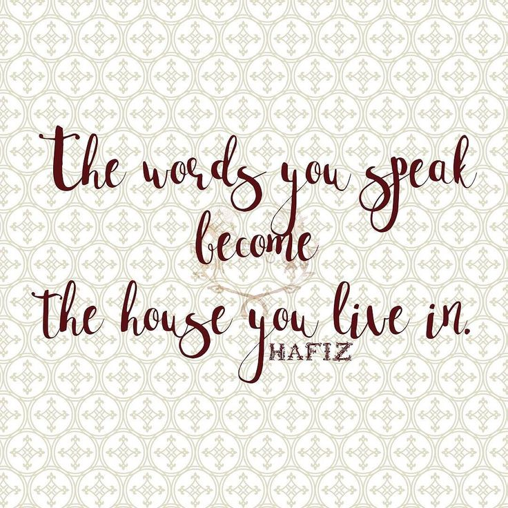 The words you speak become the house you live in. Hafiz   #qotd #365project 216/365 #quoteoftheday #quotes #varnishedtruths #lifequotes #inspirationalquotes #motivationalquotes #instaquote #quotestagram #wordstoliveby #quotestoliveby #spiritual #liveauthentic #blessed #positivemindset #beingpassionate #inspiration #motivation #believe #wavesofkindness #design #graphicdesign #Hafiz