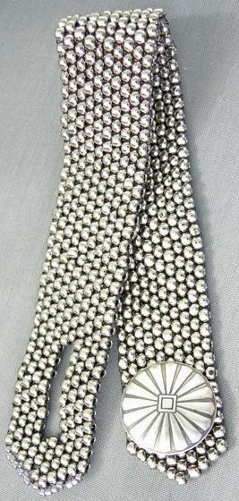 Rapid Nickel Bracelet - MiniWorkshop by Judith Bertoglio-Giffin at Bead-Patterns.com