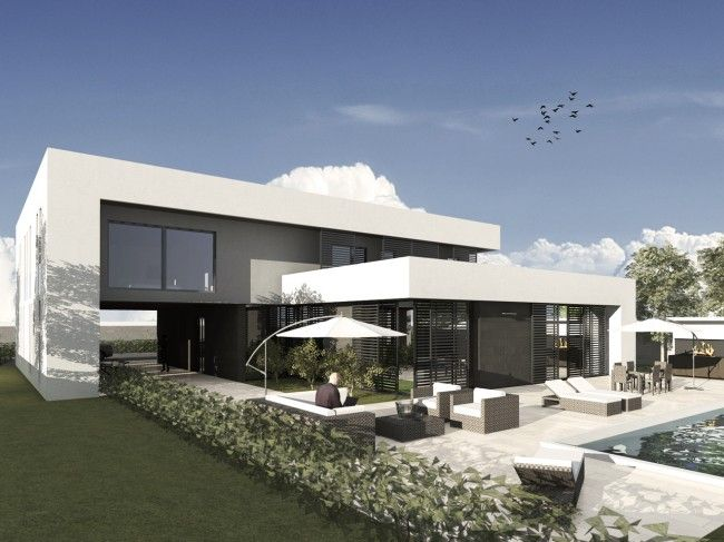 a beautiful private villa at Palos Verdes - Accra (Ghana) - design by BiCuadro Architects and AF&A
