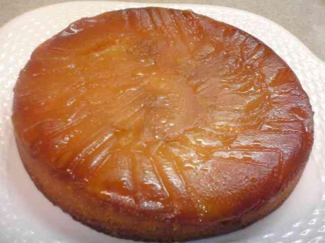 絶品~♪タルトタタン風りんごのケーキの画像