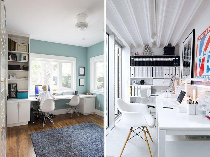 para dois: 22 ideias para dividir home offices, escritórios e espaços de estudos. acesse: http://www.bimbon.com.br/arquitetura/para_dois_22_ideias_para_dividir_home_offices_escritorios_e_espacos_de_estudos