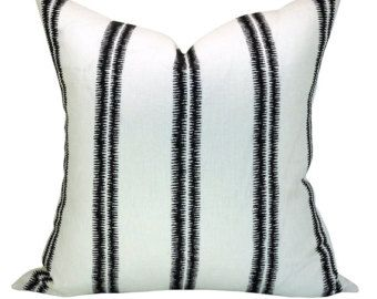 paloma embroidery pillow cover in ebony
