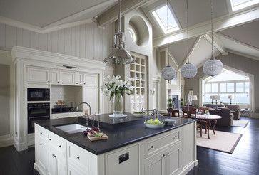 Wall Morris Design | New England Style House | Kerry, Ireland - traditional - kitchen - dublin - Wall Morris Design
