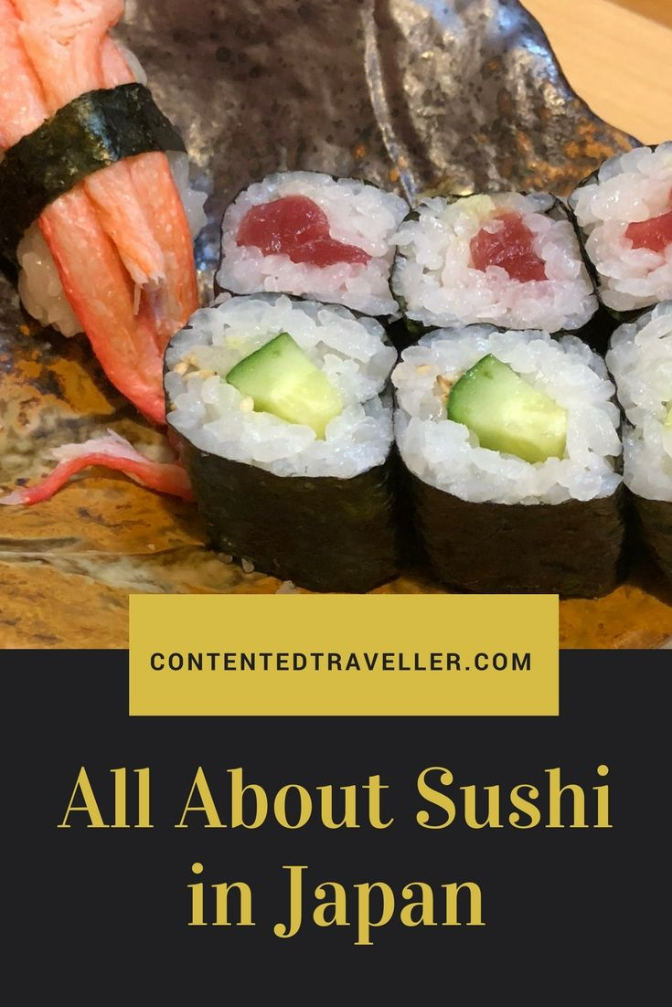 Sushi is synonymous with Japan. Nowadays sushi can be found all over the world, yet it tastes a lot better in Japan… a personal opinion. One common misconception is that sushi is raw fish. It isn't. #sushi #japan #food