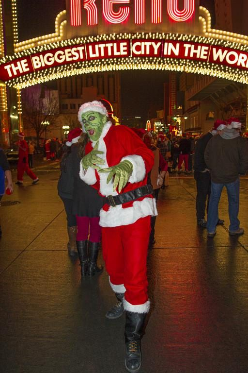 Clever Grinch costume for the Reno Santa Pub Crawl. & Christmas Costume Themed Bar Crawl u2014 Vila
