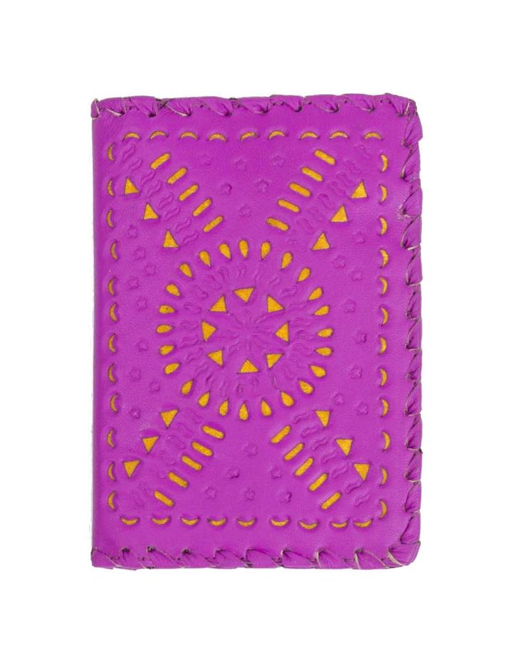 MEXICANA PAINTED PASSPORT HOLDER