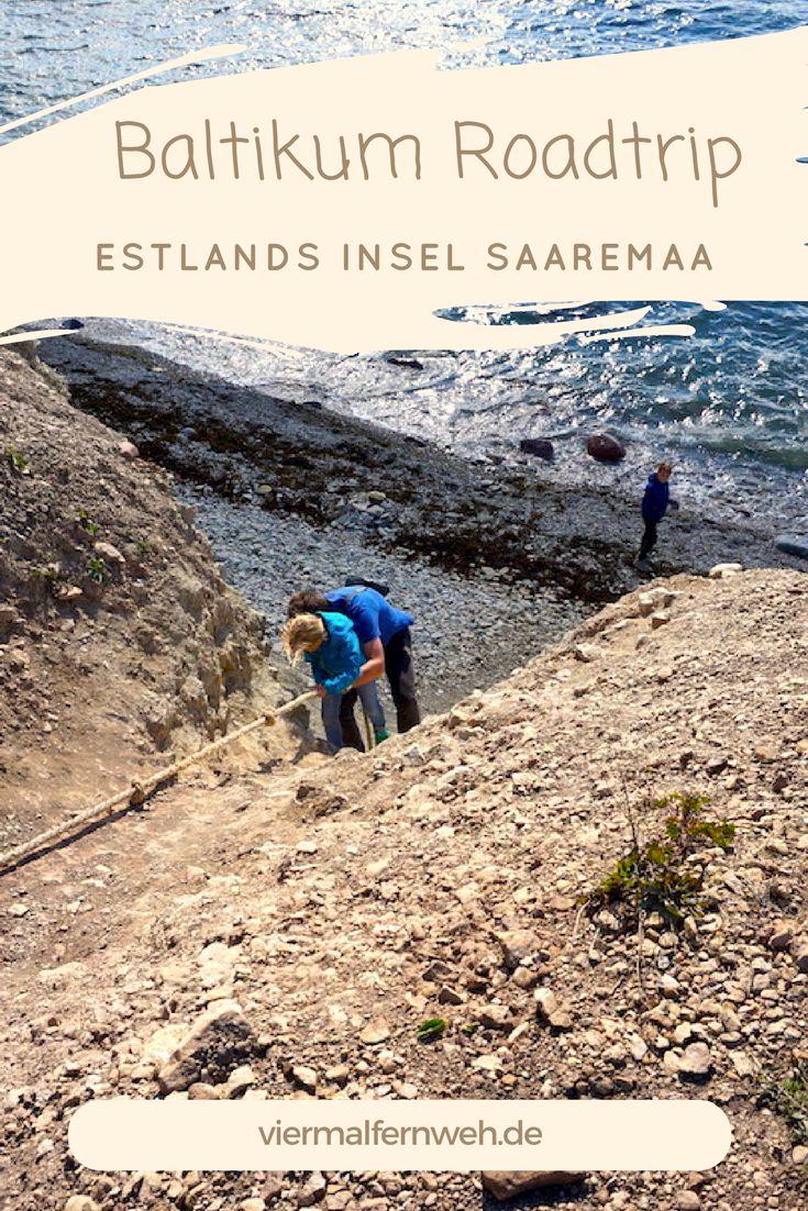 Estalnds Insel Saaremaa ist genau richtig für entspannte Tage oder abenteuerliches Abseilen an der Steilküste ... #Estland #Baltikum #Outdoor #ReisenmitKind #travel