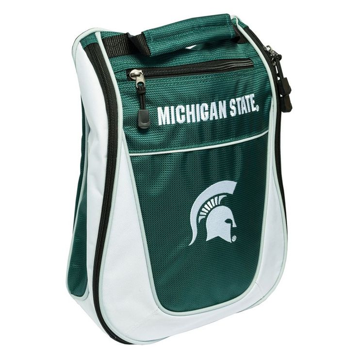 Team Golf Michigan State Spartans Golf Shoe Bag, Multicolor