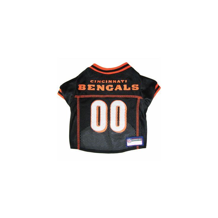 Cincinnati Bengals NFL Jersey size: Medium, Pets First, Black