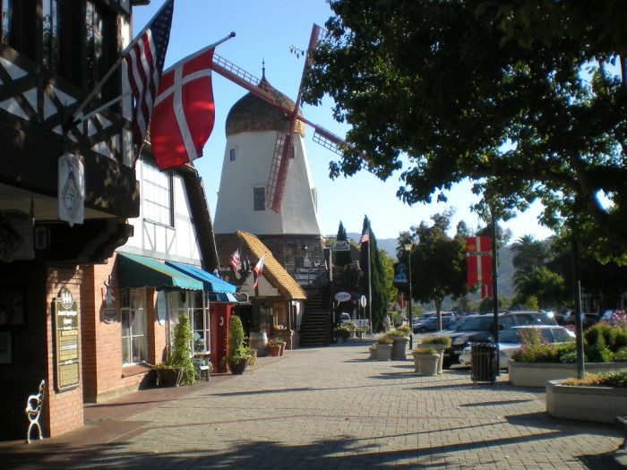 2.  Solvang, CA   Here Are 10 Of The Most Charming Small Towns in Southern California
