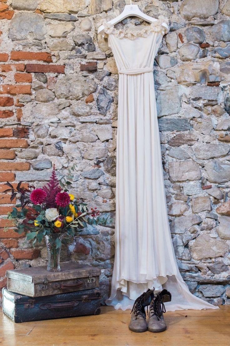 leila hafzi wedding dress