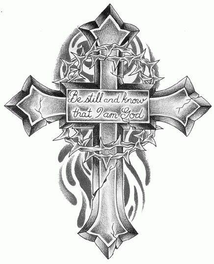 32 best tattoos images on pinterest tatoos cross tattoo designs very cool cross tattoo voltagebd Image collections