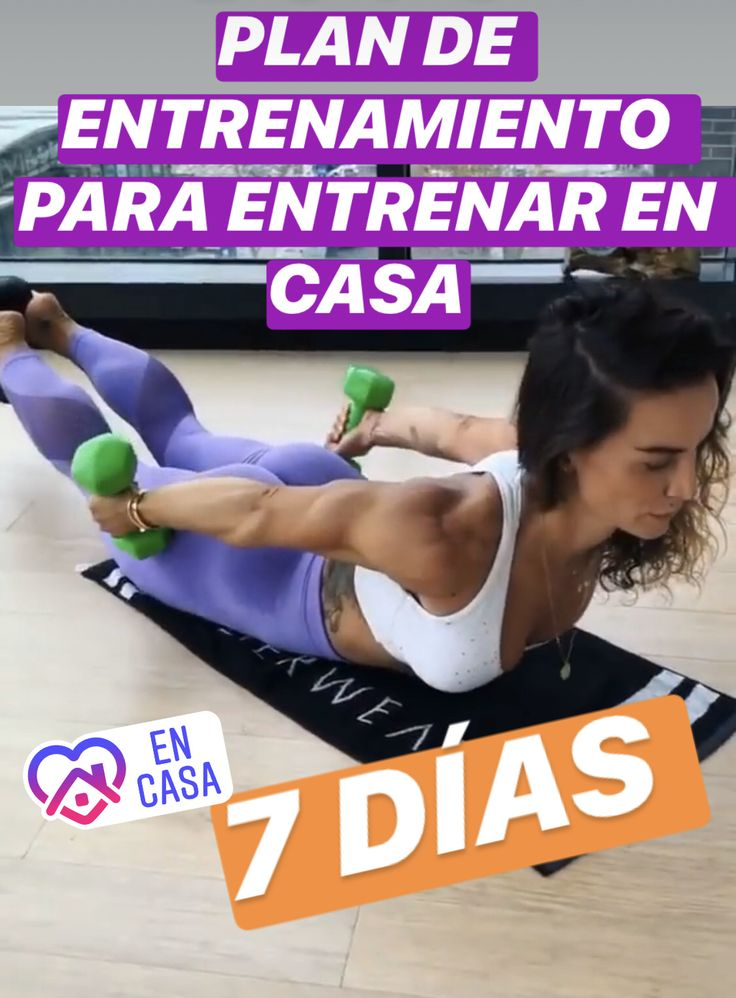 ✅ Plan de 7 días para entrenar en casa 👉  👉 C O M P A R T E!! Plans, Body Shapes, Workout Programs, Gym Workouts, Cardio, Health Fitness, Exercise, Lettering, How To Plan