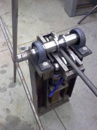Bildergebnis für homemade metal bending machine