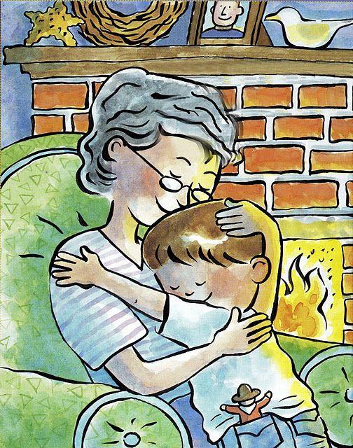 The best part of being older...GRANDCHILDREN!