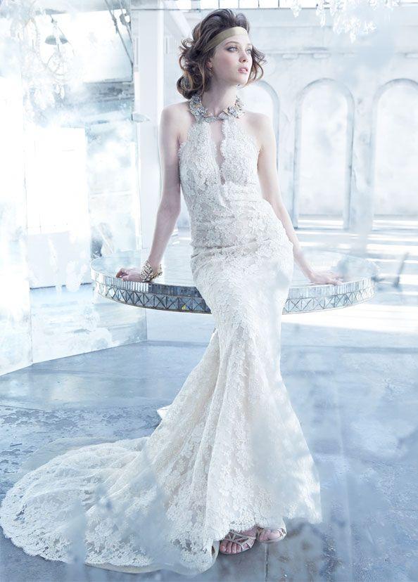 42 best Maria Elena for LAZARO images on Pinterest   Wedding frocks ...