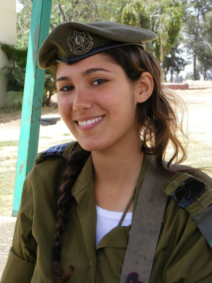 Israeli soldier. She's a cutie isn't she?? :) God bless her and her family.